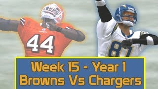 ESPN NFL 2K5 - Cleveland Browns Vs San Diego Chargers - Week 15