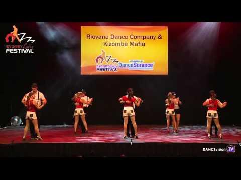 2016 Sydney Latin Festival.  Riovana Dance Company. Kizomba Mafia.