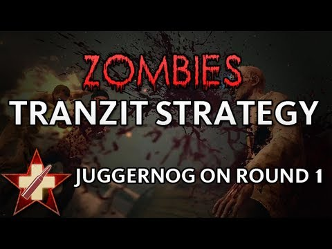 Black Ops 2 - Live TranZit - Starting Strategy   Juggernog on Round 1