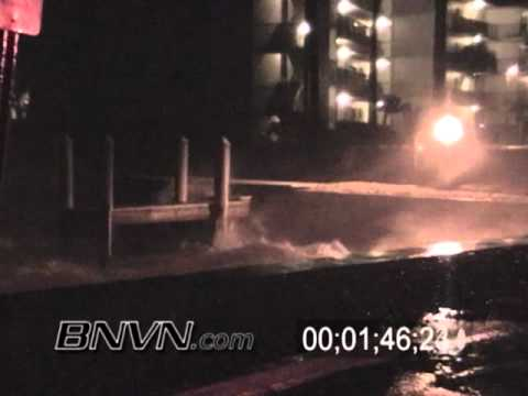 10/24/2005 Hurricane Wilma hitting Marco Island during the overnight hours