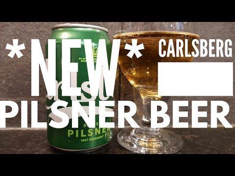 *NEW* Carlsberg Danish Pilsner , Carlsberg Snap Pack | Danish Lager Review