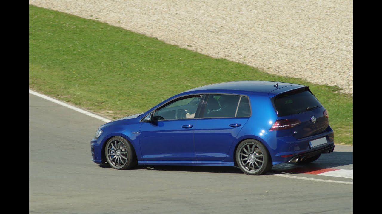 golf 7r on track spectator view circuit de clastres youtube. Black Bedroom Furniture Sets. Home Design Ideas