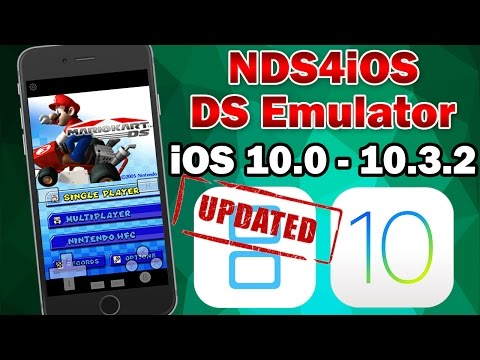 UPDATED Install NDS4iOS Nintendo DS Emulator on iOS 10.0 - 10.3.2 (No Jailbreak / No Computer)