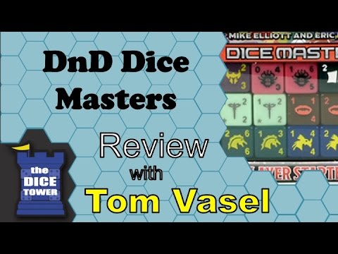 DnD Dice Masters Review - with Tom Vasel