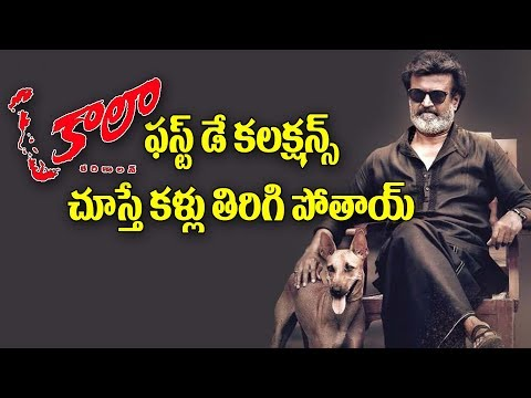 Kaala Telugu Movie First Day Collections | Rajinikanth | Danush | Pa Ranjith | Y5 tv |