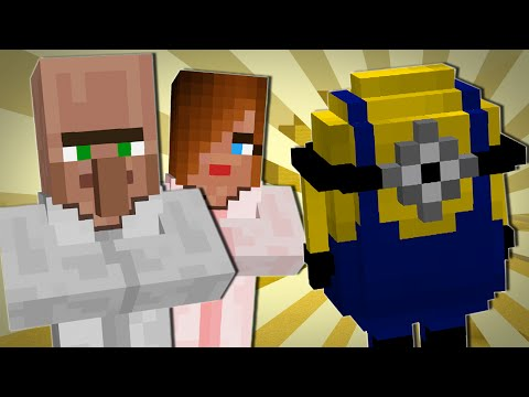 TRAYAURUS MEETS THE MINIONS | Minecraft