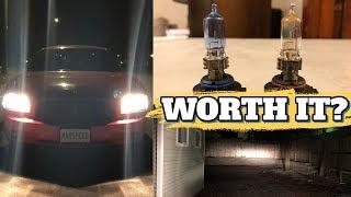 Sylvania Silverstar zXe Headlight Bulbs vs. Stock - HID Alternative?