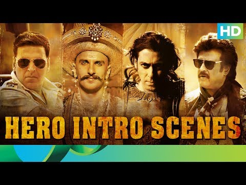 Top 10 Hero Intro Scenes | Eros Now