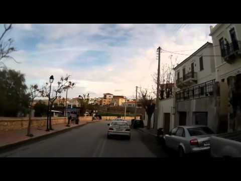 Vespa ride through Chania, Crete
