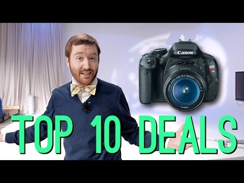 Top 10 Cyber Monday Deals for Filmmakers