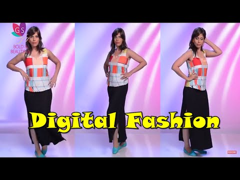 Summer Special : Colors and Patterns with the Digital Fashion