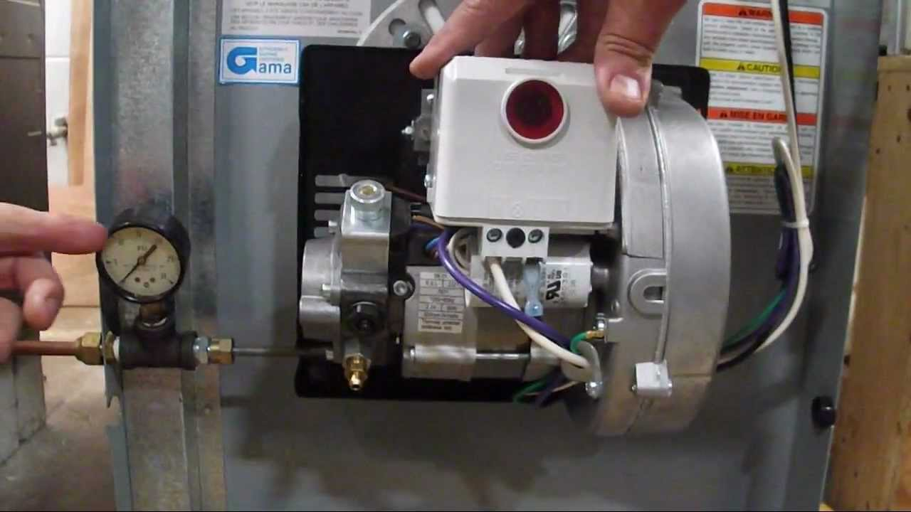 how to clean carrier furnace burner tube