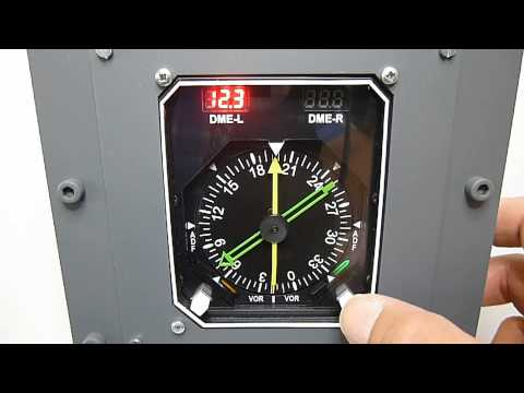 GSA RMI DME GA Radio Magnetic Indicator DME