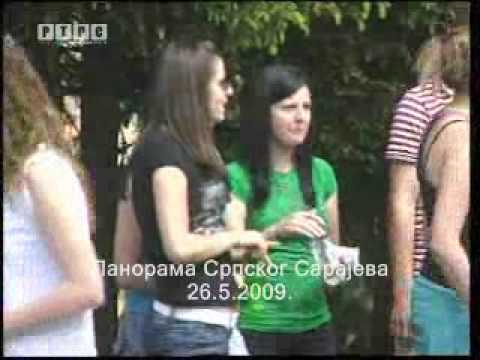 Srpsko Sarajevo: Protest studenata Studentskog doma Koran, centar Pale 26.5.2009. †