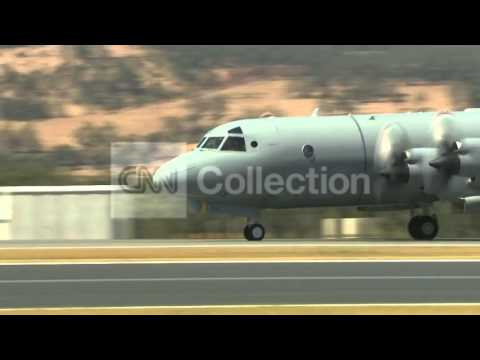 MALAYSIA AIRLINES:SEARCH PLANES AT PEARCE AFB