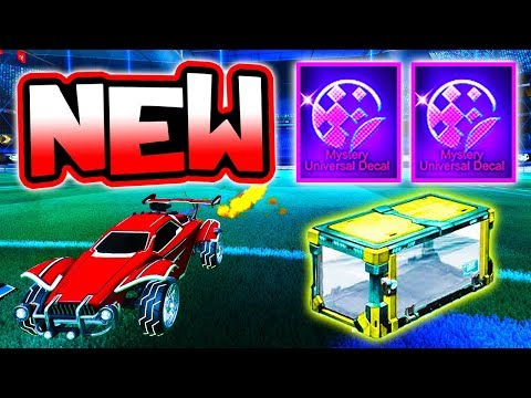 New MYSTERY DECALS, CRATE & RLCS REWARDS!! ( Rocket League Update )