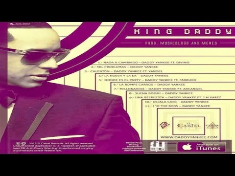 King Daddy Edition CD COMPLETO ( Prod by: Los De La Nazza )