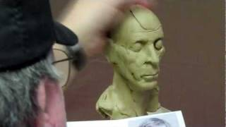 Sculpting Tutorial - Sculpting a Portrait Using TruForms 12 Life-size Skull
