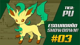 Esquadrão Showdown #03 SharK & Pallas | Smogon PU
