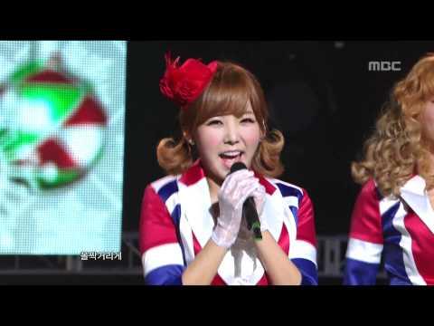 Orange Caramel - A-ing, 오렌지 캬라멜 - 아잉, Music Core 20101218 video