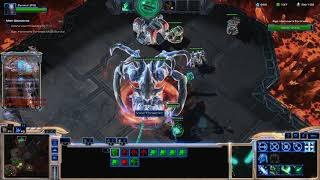 Starcraft 2 Co-Op Zeratul getting lvl 15 + Shield Achievement