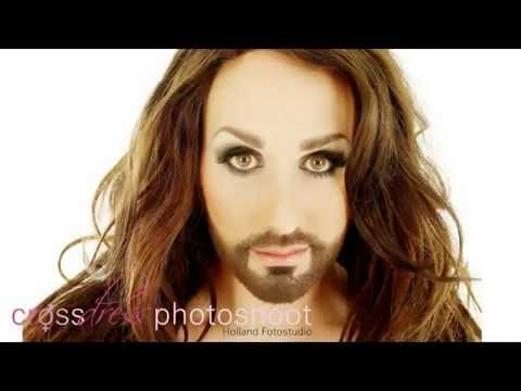 Man Becomes Woman Photoshoot   Crossdress   Transgender   Travestiet