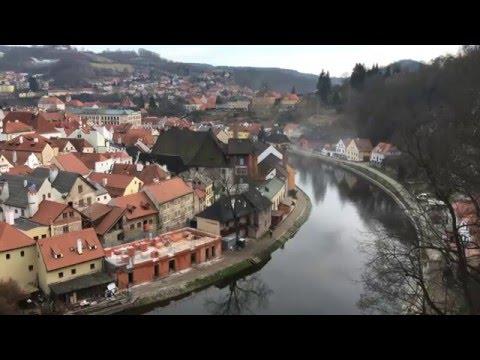 Чески-Крумлов - один из самых красивых городов Чехии (без коментариев) 4K