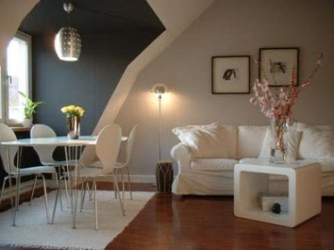Decoracion de espacios peque os ideas youtube - Pintura para casas modernas ...