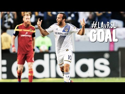 GOAL: Landon Donovan heads in the opener with perfection | LA Galaxy vs. Real Salt Lake