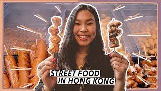 Eating A LOT of Street Food in Hong Kong | Travel Vlog