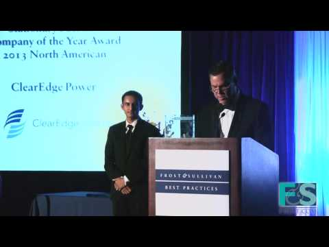 ClearEdge Power, 2013 Company of the Year Award, in the North American Stationary Fuel Cell Market
