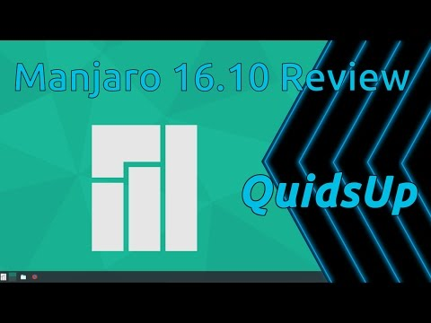 Manjaro 16.10 KDE Review – Easy Arch Linux