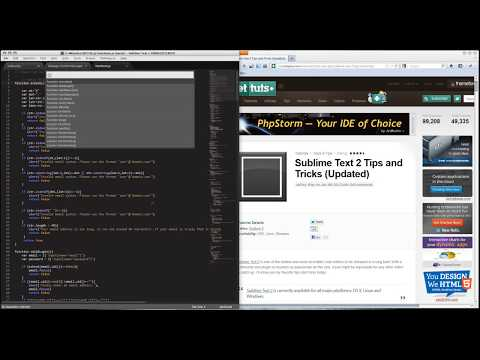 Sublime Text 2 as an IDE with SFTP