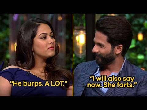 10 Romantic Shahid Kapoor and Mira Rajput Quotes From Koffee With Karan | SpotboyE