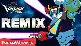 [MUSIC VIDEO] Voltron Legendary Defender REMIX | DREAMWORKS VOLTRON LEGENDARY DEFENDER