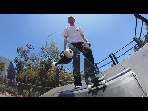 Скейтборд из СТЕКЛА