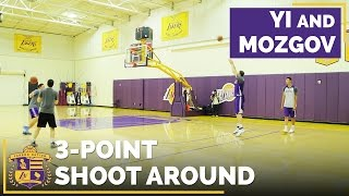 Can Yi Jianlian & Timofey Mozgov Shoot From Three-Point Range?