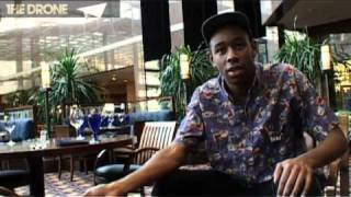 Tyler, The Creator Video - The Drone: Tyler, The Creator - interview