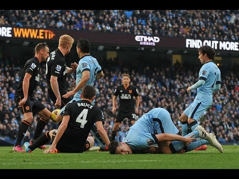 Barclays Premier League 2014/2015 - Manchester City vs Hull City (2-1)