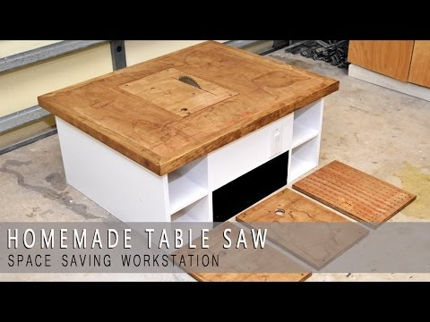 Homemade Table Saw. Jigsaw. Router Workstation  Modular