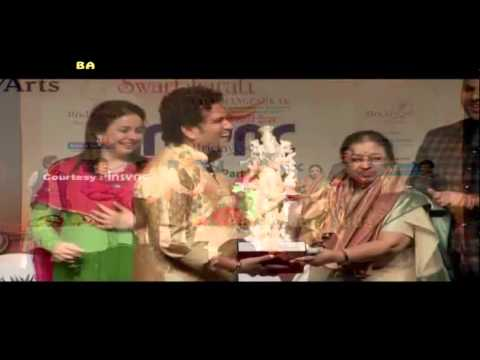 Lata Mangeshkar | Birthday 85th Celebration | Bharat Ratna Sachin Tendulkar