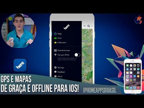 GPS e MAPAS GRATUITOS e OFFLINES (Android. iOS e Win. Phone)