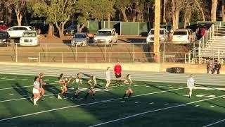 Isabella Great Chip Goal Ponderosa Freshmen Girls Soccer