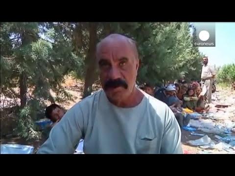 Refugiados yazidis querem deixar o Iraque