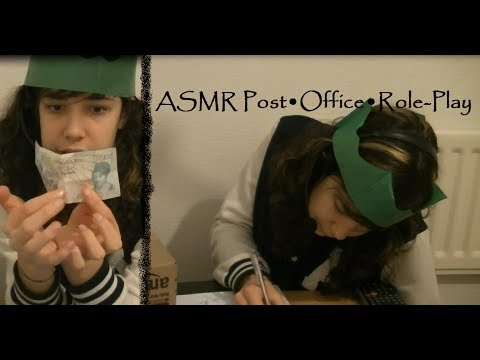 ♥ASMR♥ Post•Office•Role-Play