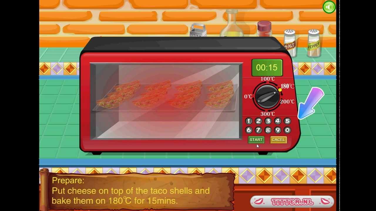 Tacos mexicanos juegos de cocinar youtube - Juegod de cocinar ...