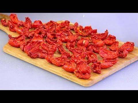 Большая СУШКА  Вяленые помидоры и МЯСО + сухой ОВОЩНОЙ бульон! Как я сушу и храню овощи