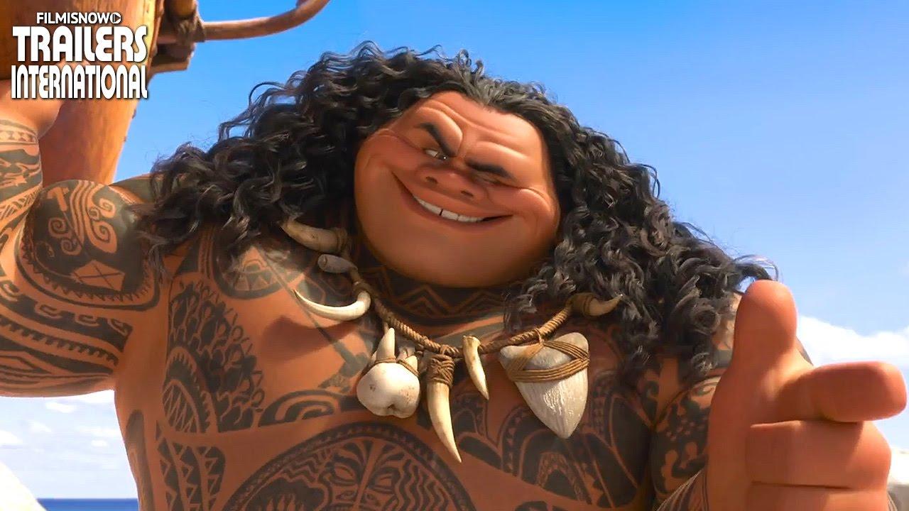 MOANA | Animação da Disney ganha novos TV Spots