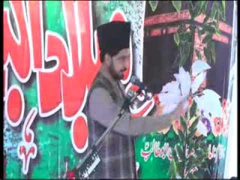 Zakir Syed Shakir Shah 2 Jashn milad 17 rabi ul awal 2018 Ada Jambar khurd