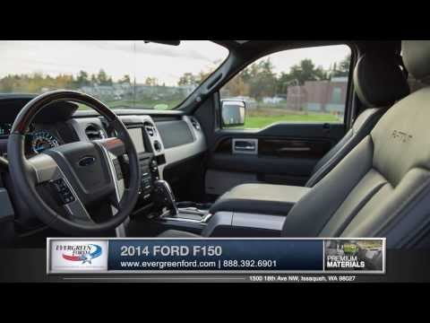 2014 Ford F 150 Walkaround | Evergreen Ford - Serving Issaquah, WA & Seattle, WA